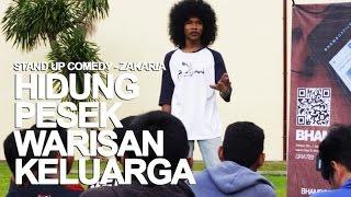 Stand Up Comedy -  Zaka : Hidung Pesek Warisan Keluarga