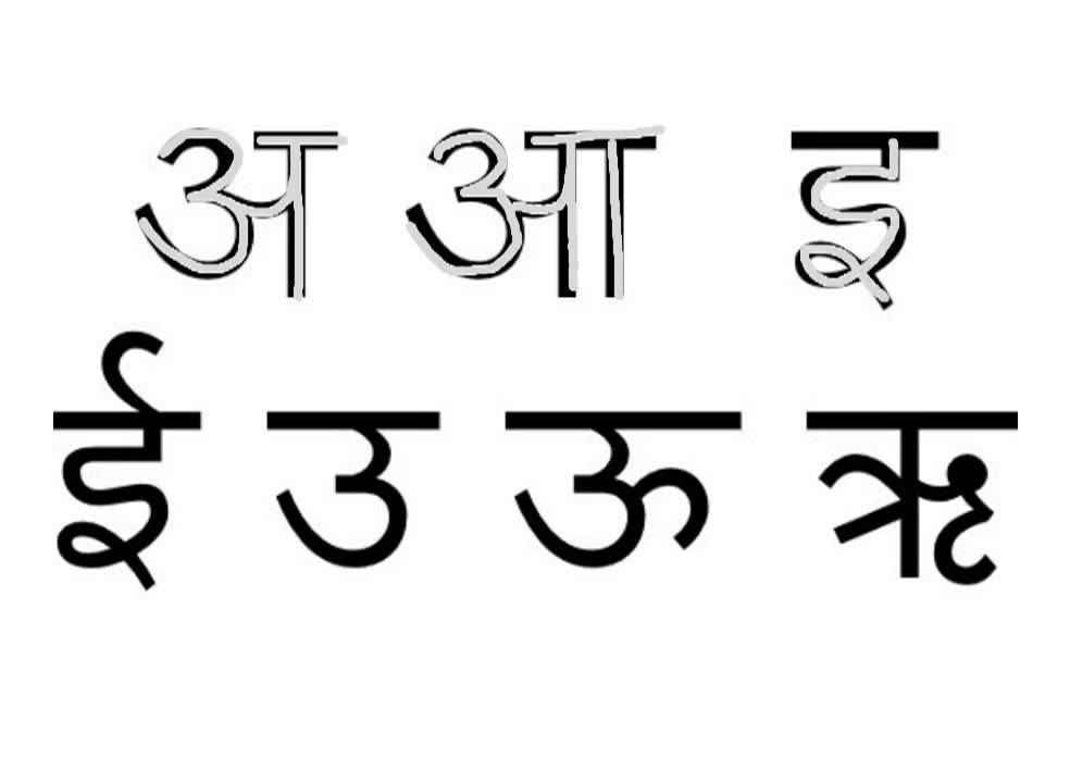 Hindi Vowels Youtube