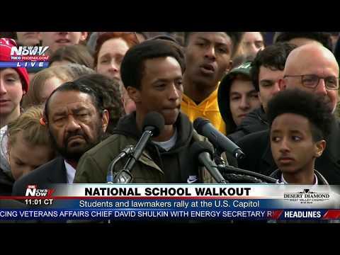 LIVE: National School Walkout on 1-month anniversary of Parkland, FL massacre