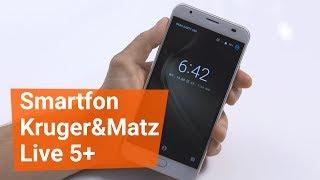 Smartfon Kruger&Matz Live 5+ i jego ogromna bateria!