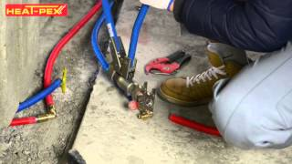 Монтаж в системе HEAT-PEX системы отопления дома ЖМ