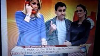 DOAÇÃO ao vivo na Rede Record programa TARDE - Máquinas de Sorvete Expresso Italianinha