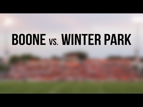 Football: Boone vs. Winter Park