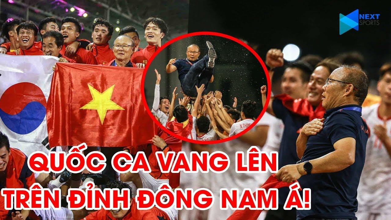 U22 Việt Nam hát vang Quốc ca trong ngày giành HCV SEA Games 30, lên đỉnh Đông Nam Á | NEXT SPORTS