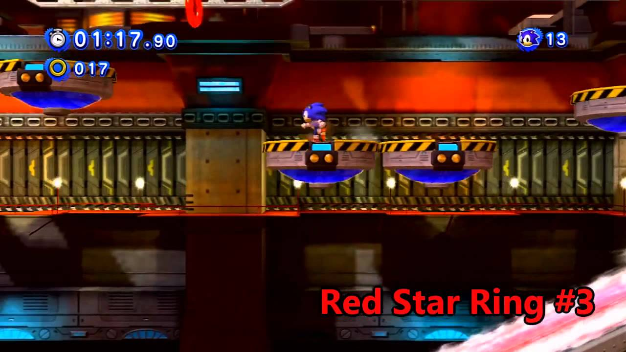 Sonic Generations Chemical Plant Red Rings