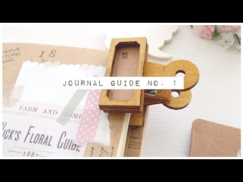 Journal Guide No. 1 //
