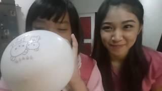 Video Celine JKT48 Gabut, Tiup balon Sendiri download MP3, 3GP, MP4, WEBM, AVI, FLV Agustus 2017
