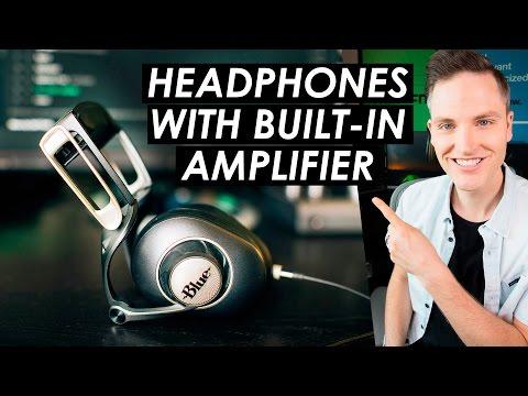 Headphones with Amplifier Built-In? — Blue Sadie Headphones Review