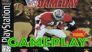 NFL GAMEDAY [PS1] Gameplay (Lions vs. Steelers)