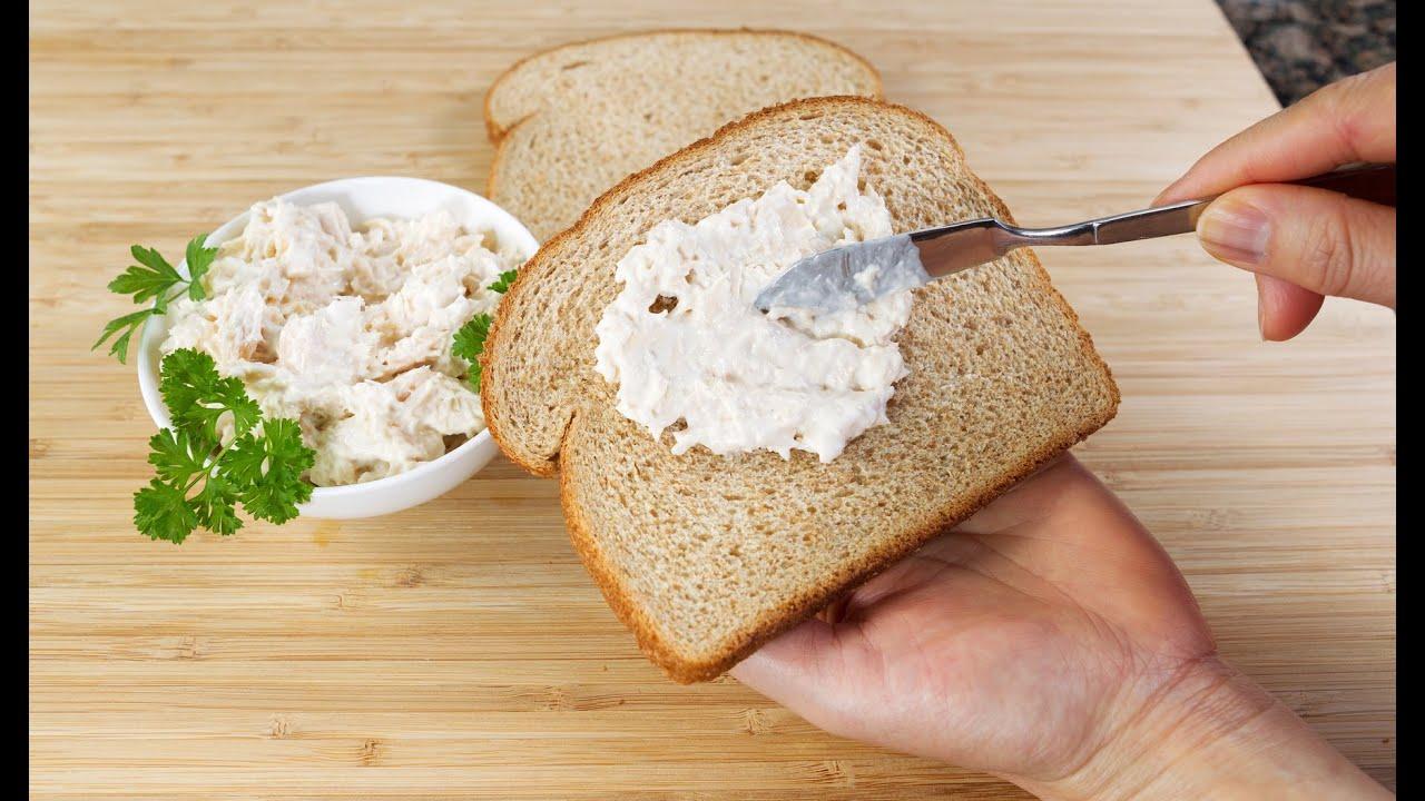 How To Make A Tuna Sandwich Youtube