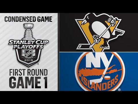 04/10/19 First Round, Gm1: Penguins @ Islanders