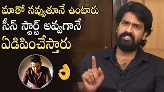 Actor Shatru Superb Emotional Words About Jr NTR Performance In Aravinda Sametha | Manastars