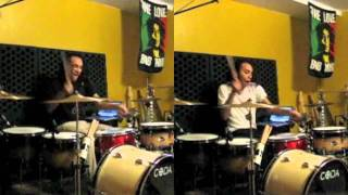 Emergency Broadcast : : The End Is Near by Underoath - Drum Cover