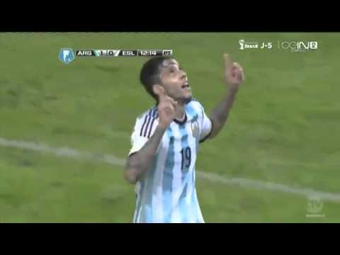 Argentina vs Slovenia 2014 2 0 ~ All goals and Full Highlights ~ Friendly Match 2014