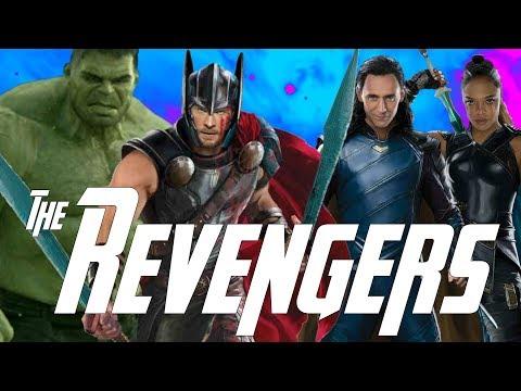 Thor Hunting Thanos & The Muspelheim Dyson Sphere in Thor Ragnarok
