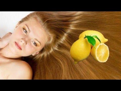 Осветление волос в домашних условиях, осветление лимонной кислотой. Простой способ.