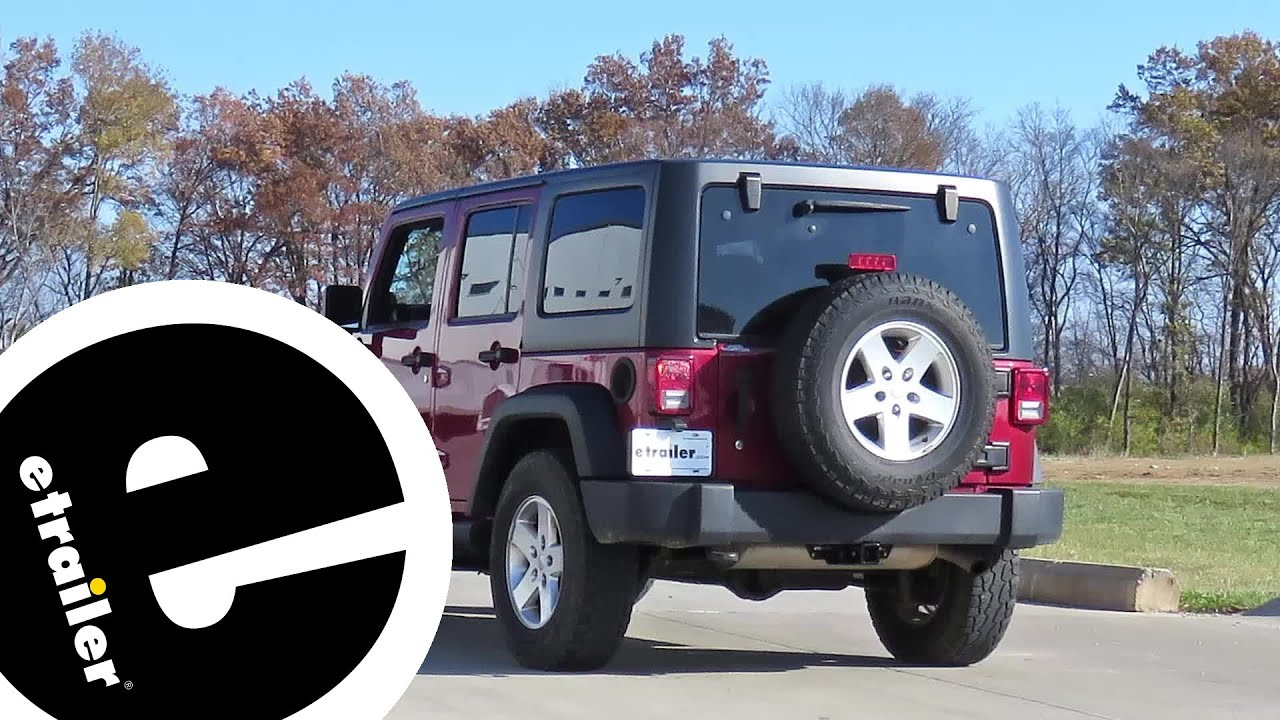 trailer hitch installation 2013 jeep wrangler unlimited curt