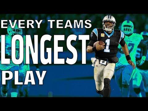 Every Team's Longest Play of the 2017 Season! | NFL Highlights