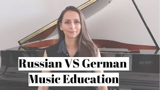 RUSSIAN VS GERMAN MUSIC EDUCATION ft. Jeeyoon Kim, pianist