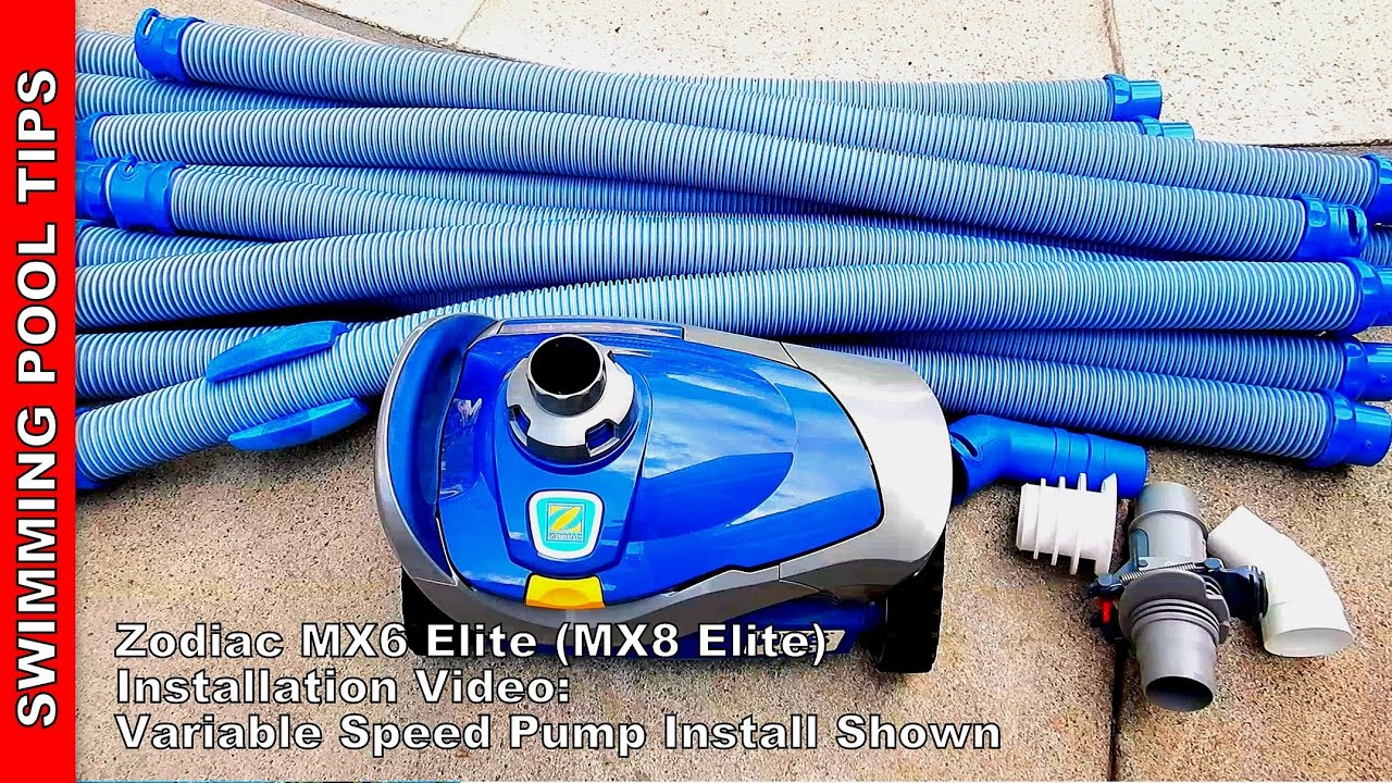 Download MX6 ELITE (MX8 ELITE) Installation at a Pool with a Variable Speed Pump (VS Pump)
