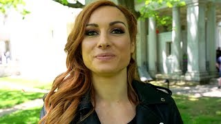 Becky Lynch on being WWE 2K20's first female cover Superstar