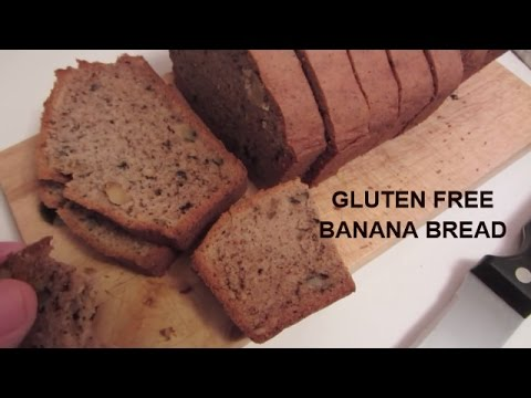 Food Processor Gluten Free Banana Bread