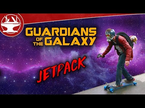 We Made Star-Lords Jet Pack ► ALMOST BROKE MY ARM TESTING IT!