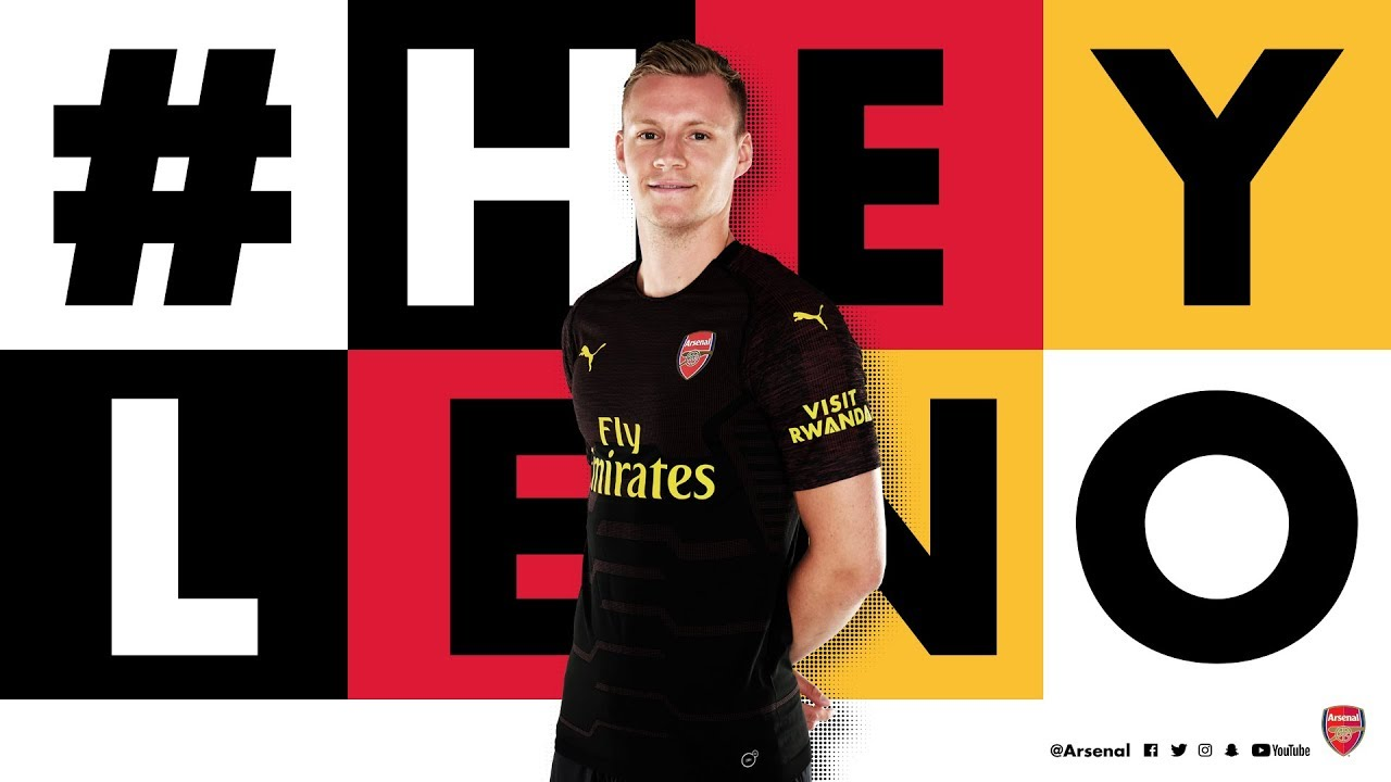 Welcome To Arsenal, Bernd Leno!