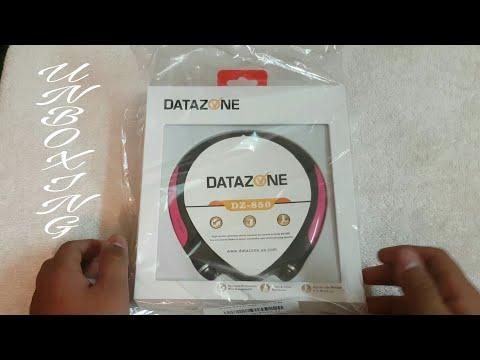 DATAZONE DZ-850 Bluetooth Headset Unboxing!