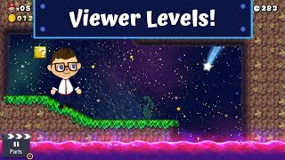 VIEWER LEVELS!   Viewer levels in Super Mario Maker 2