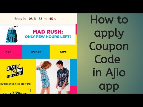 || How to apply Coupon code in Ajio app in telugu ||How to shop in ajio app||girlythings in telugu||