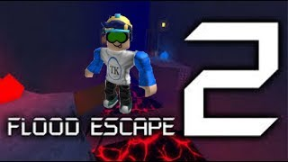 PLAYING THE NEW ROBLOX FLOOD ESCAPE UPDATE