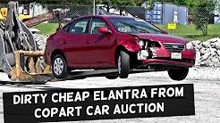 Won a crazy good DEAL at Insurance Car Auction COPART | HYUNDAI ELANTRA