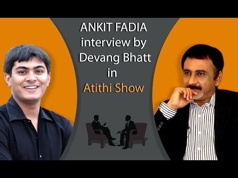 Ankit Fadia Ethical Hacking Interview Video with Devang Bhatt