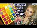 September Rose Slush Palette   Review & Swatches