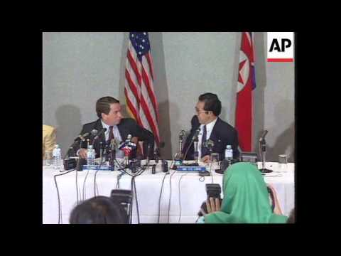 MALAYSIA: AGREEMENT REACHED IN US NORTH KOREA NUCLEAR TALKS