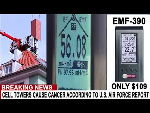 BREAKING CELL TOWERS CAUSE CANCER ACCORDING TO U S  AIR FORCE REPORT
