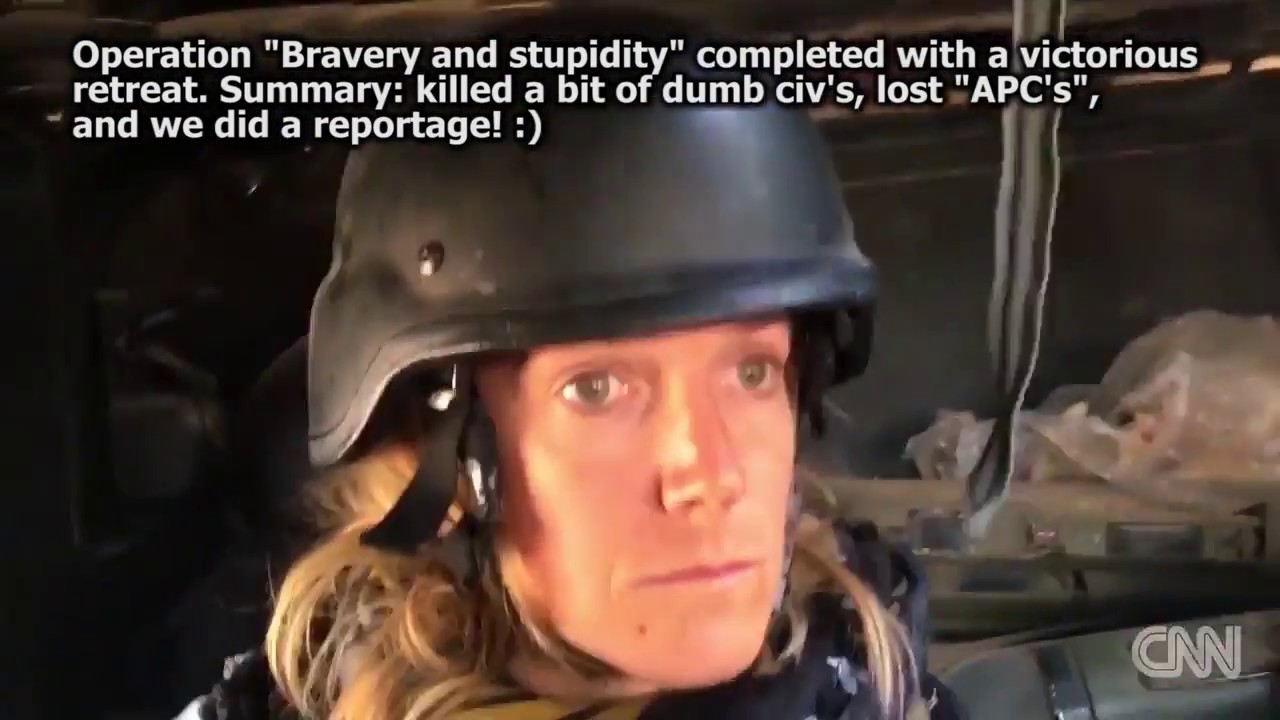 """CNN """"Bravery and stupidity"""" of """"SpecOp"""" prepared by US instructors with comments of Andrey Filatov"""