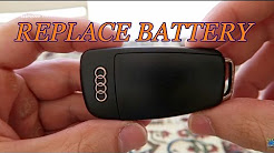 How To Replace The Battery In Your Audi Key Fob