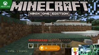 Minecraft Xbox One Survival Gameplay and NEW Achievements