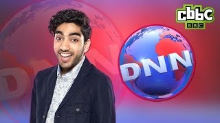 CBBC: DNN Hot Topics - Jahmene's School Uniform Debate