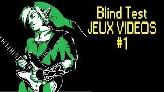 BLIND TEST JEUX-VIDÉOS #1 (avec réponses)