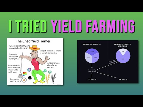 Yield Farming 1st Results \u0026 Step-By-Step Guide