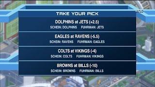 Time to Schein: Week 15 NFL picks