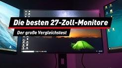 Full HD, WQHD und 4K: Die besten 27-Zoll-Monitore