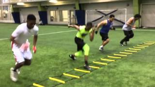 Rapid Response (Power Push-First Step Explosiveness in Ladder)