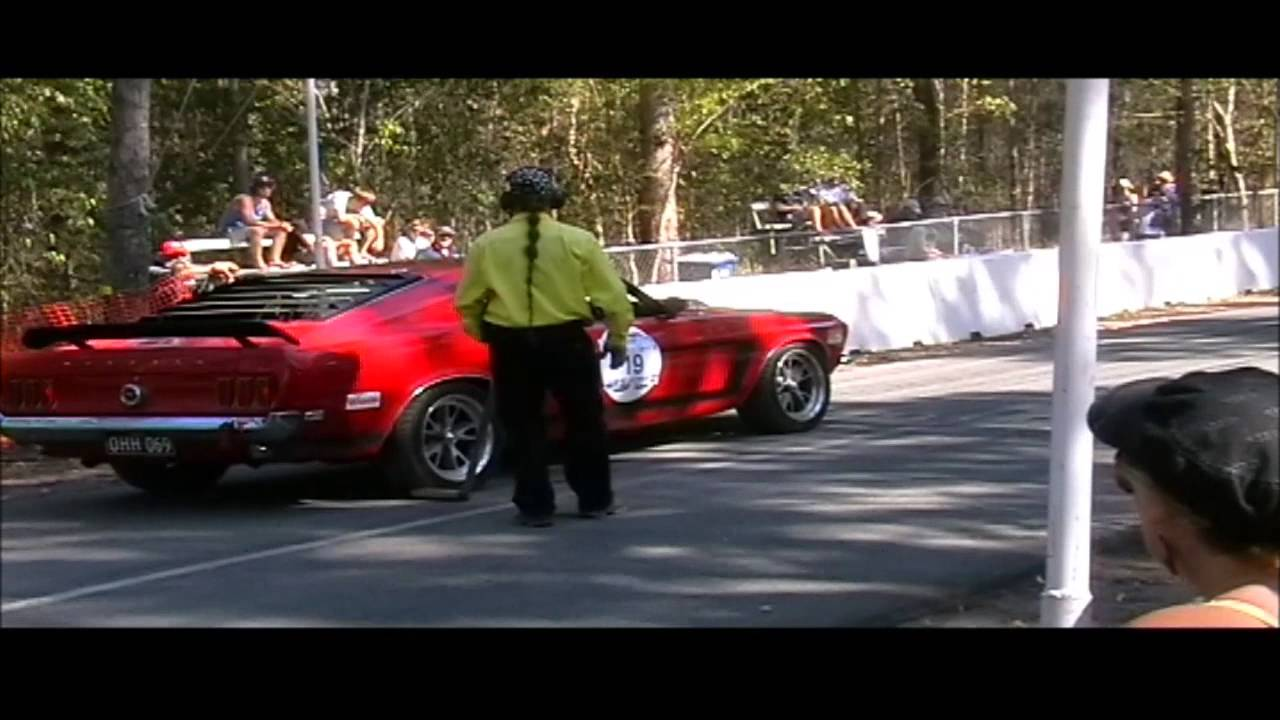"Noosa ""THE HILL"" Hill Climb - 2013 - 1969 Ford Mustang"