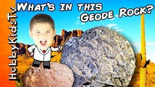 What's in GEODE ROCKS? HobbyKids Search for Rocks