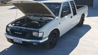 My Old 1998 Ls1 V8 Holden Rodeo Youtube