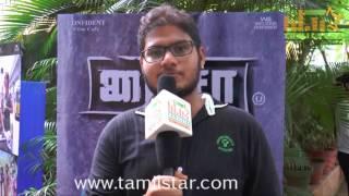 Music Director JV At Paisa Movie Press Meet